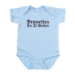 Brunettes Do It Better Infant Bodysuit