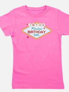Las Vegas Birthday Girl Girl's Tee