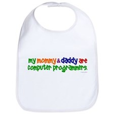 My Mommy & Daddy Are Programmers (PR) Bib
