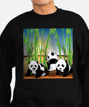 Panda Bears Sweatshirt (dark)