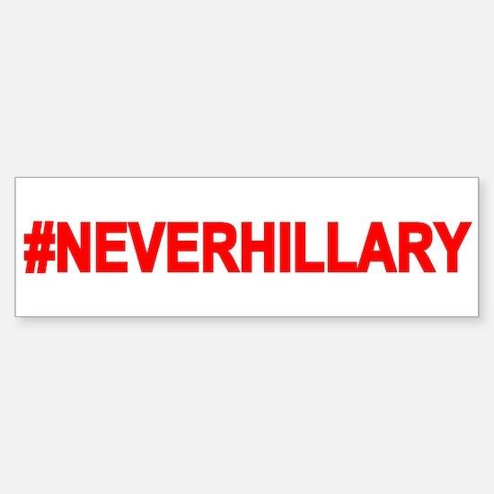 Never Hillary Bumper Bumper Bumper Sticker