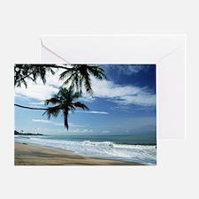 Unique Puerto rico beach Greeting Card