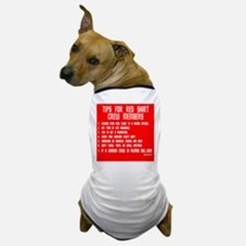 Tips For Red Shirt Crew Membe Dog T-Shirt