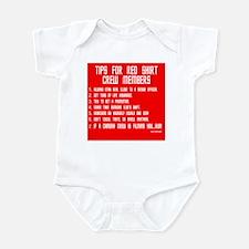 Tips For Red Shirt Crew Membe Onesie