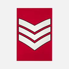 Lance Sergeant<BR> Rectangle Magnet
