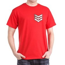 Lance Sergeant<BR> Red T-Shirt
