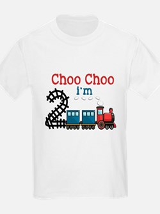 Choo Choo I'm 2 T-Shirt