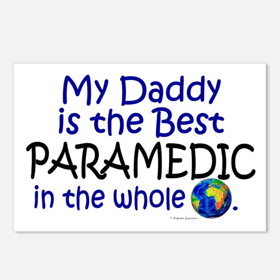 Best Paramedic In The World (Daddy) Postcards (Pac