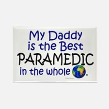 Best Paramedic In The World (Daddy) Rectangle Magn