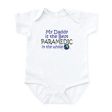 Best Paramedic In The World (Daddy) Infant Bodysui
