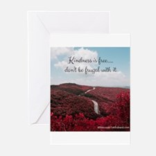 Give Kindness Freely Greeting Cards (pk Of 20)