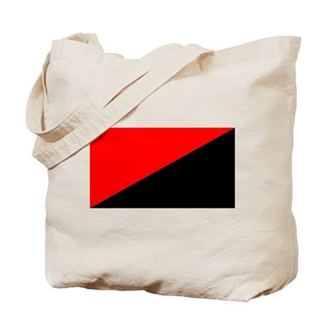 Anarcho-Syndicalist Flag Tote Bag