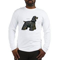 Cocker Spaniel (Front) Long Sleeve T-Shirt