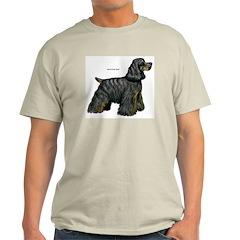 Cocker Spaniel (Front) Ash Grey T-Shirt