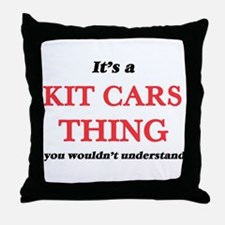 It's a Kit Cars thing, you wouldn Throw Pillow