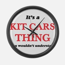 It's a Kit Cars thing, you wo Large Wall Clock