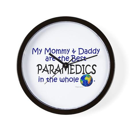 Best Paramedics In The World Wall Clock