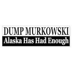 Dump Murkowski (bumper sticker)