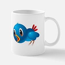 Angry bird cartoon Mugs