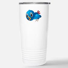 Angry bird cartoon Stainless Steel Travel Mug