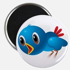 Angry bird cartoon Magnets