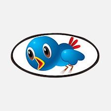 Angry bird cartoon Patch