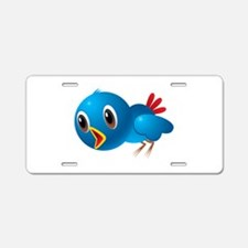 Angry bird cartoon Aluminum License Plate