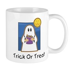 Trick or Treat Ghost Mug