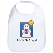 Trick or Treat Ghost Bib