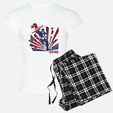 Captain America Running Pajamas