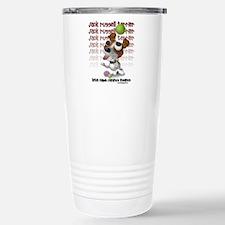 Funny Pet illustration Travel Mug