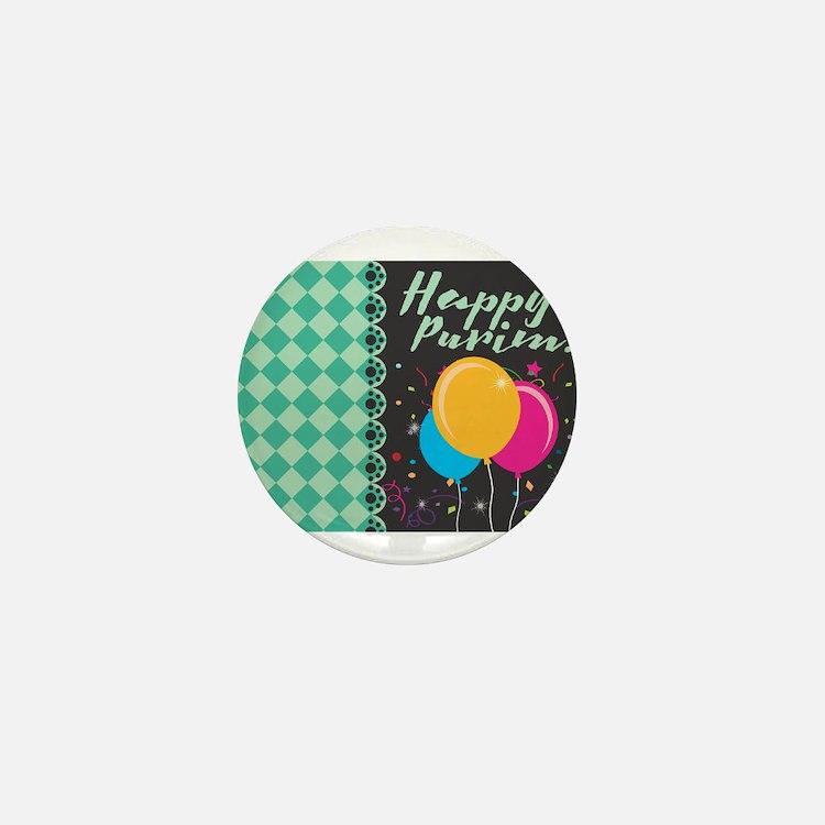 happy purim Mini Button