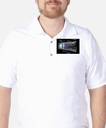 Our Universe Explained Golf Shirt