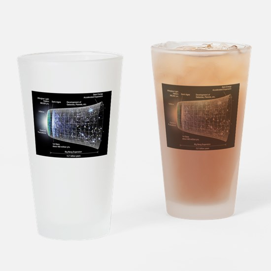 Our Universe Explained Drinking Glass