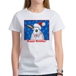Santa Rabbit Women's T-Shirt