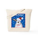 Santa Rabbit Tote Bag