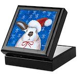 Santa Rabbit Keepsake Box