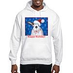 Santa Rabbit Hooded Sweatshirt