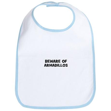 beware of armadillos Bib