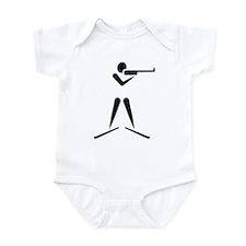 Biathlon symbol Infant Bodysuit