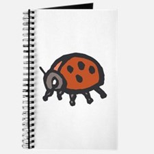Ladybug brown Journal
