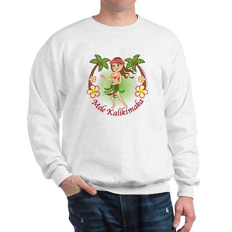 Christmas Hula Sweatshirt