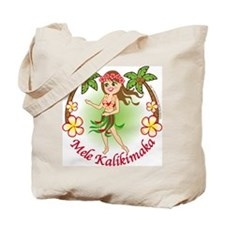 Christmas Hula Tote Bag