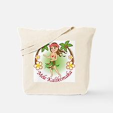 Christmas Hula Tote Bag