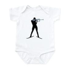 Biathlon sports Infant Bodysuit