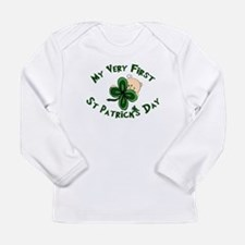 Cute My first st patricks day Long Sleeve Infant T-Shirt