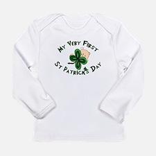 Cute 1st Long Sleeve Infant T-Shirt