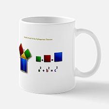 Euclids Pythagorean Theorem Proof Remix Mugs