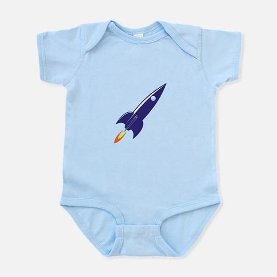 Blue rocket Body Suit