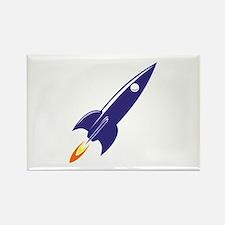 Blue rocket Magnets